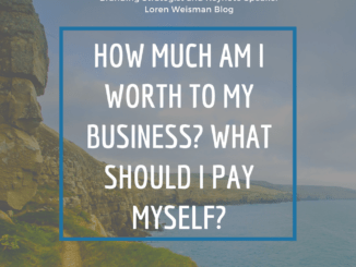 how much am i worth to my business, loren weisman, keynote speaker, branding strategist