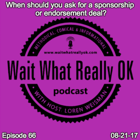 when should you ask for a sponsorship