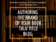 authoring the brand of your book, feaetured photo, talk title