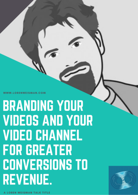 branding your videos, talk title, keynote speaker, front