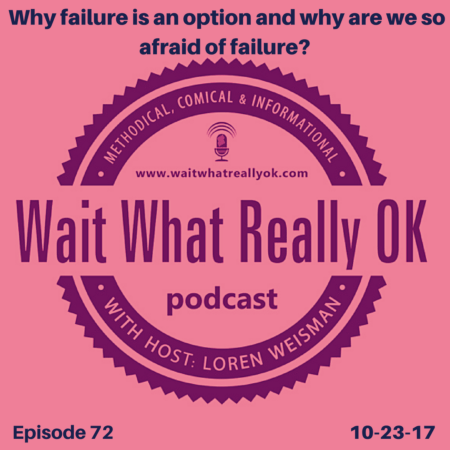 why failure is an option, wait what really ok