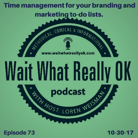 time management for your branding