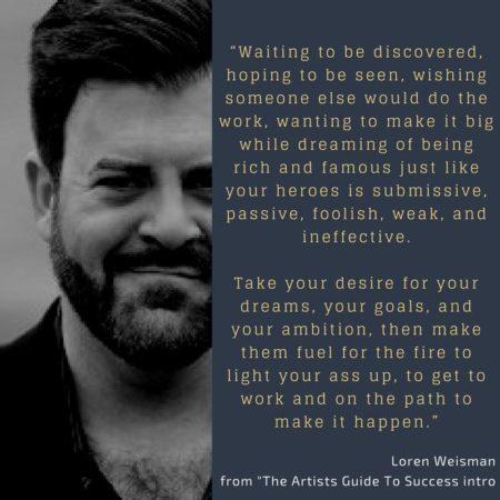 keynote speaker quotes, loren weisman, weis words, quote, waiting
