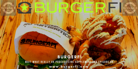 burgerfi, Winter Garden, Cheese burger, wait what really ok, loren weisman