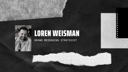 Header image with picture of loren weisman and text of his name.