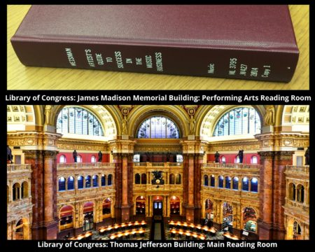 a book and an image of the reading room in the library of congress