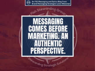 Messaging comes before marketing is the title around a purple background.