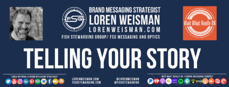 A footer graphic with an image fo Loren Weisman and the Wait What Really OK logo as well as the FSG logo and some social media icons.