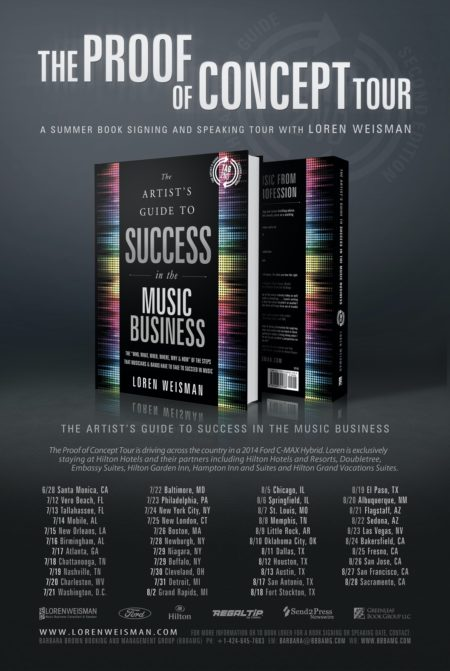 a book tour poster with the book in the middle and the dates on the bottom.